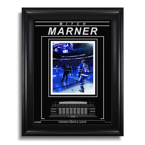Mitch Marner Toronto Maple Leafs Engraved Framed Photo - Opening Ceremony