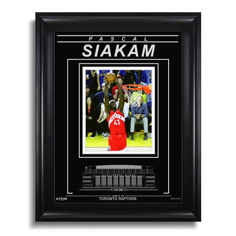 Pascal Siakam Toronto Raptors Engraved Framed Photo - 2019 NBA Finals