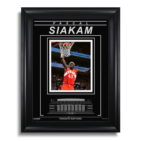 Pascal Siakam Toronto Raptors Engraved Framed Photo - Dunk