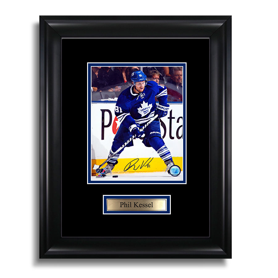 Phil Kessel Signed Toronto Maple Leafs Framed Photo