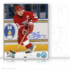 STEVE YZERMAN AUTOGRAPHED SIGNED GAME ACTION 8X10 PHOTO - DETROIT RED WINGS
