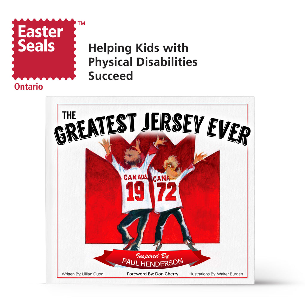 The Greatest Jersey Ever Book Signed by Paul Henderson - Easter Seals Ontario