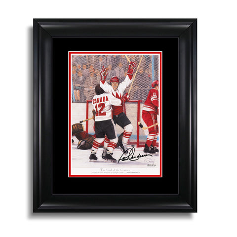 The Goal of the Century – Paul Henderson Signed 12 x 15 Legends Series Print