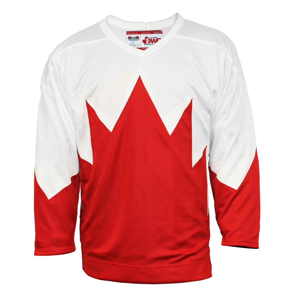 Team Canada 1972 Jersey Away White