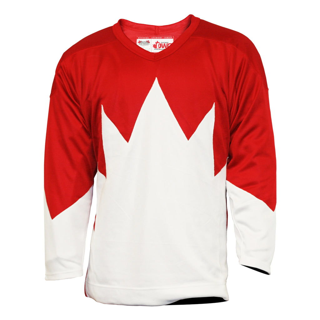 Team Canada 1972 Jersey Home Red