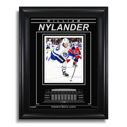 William Nylander Toronto Maple Leafs Engraved Framed Photo - Action Flex