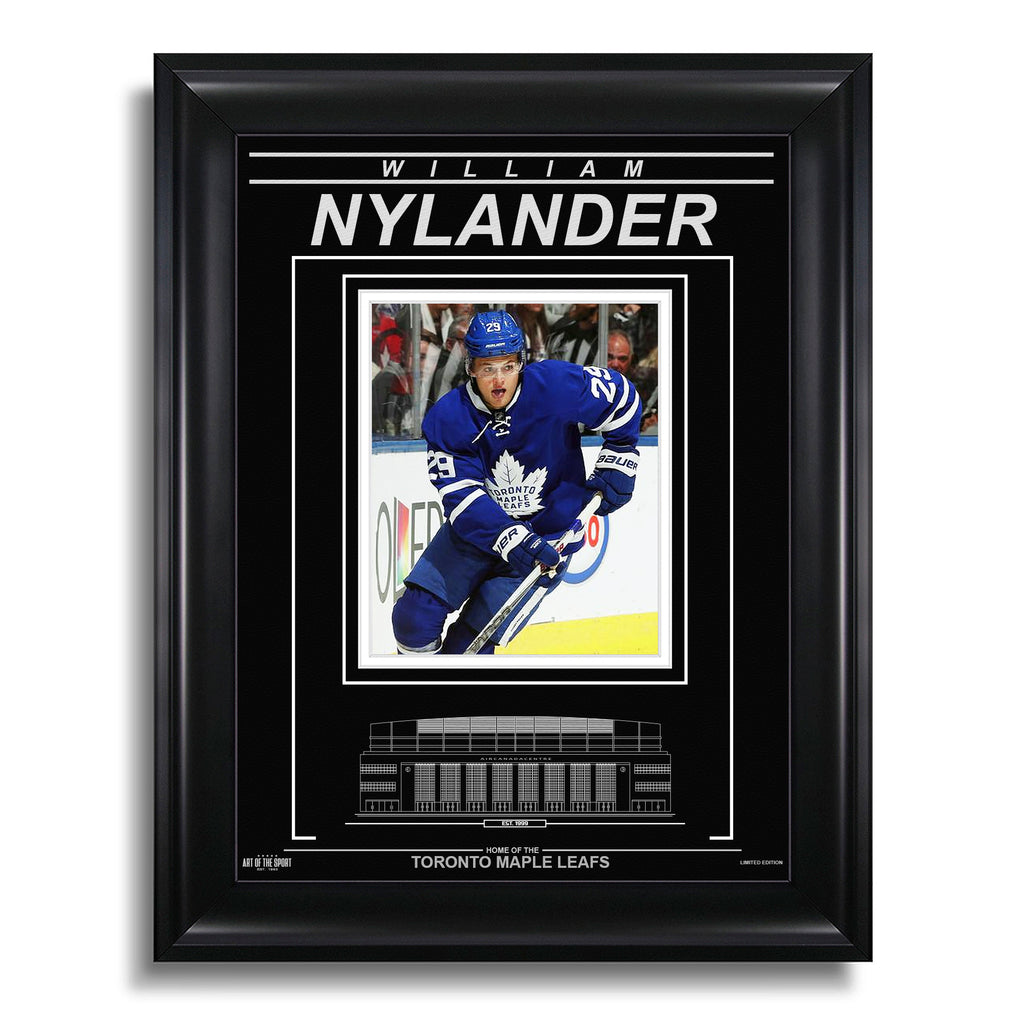 William Nylander Toronto Maple Leafs Engraved Framed Photo - Action Focus