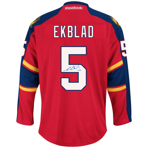 Aaron Ekblad Signed Florida Panthers Jersey