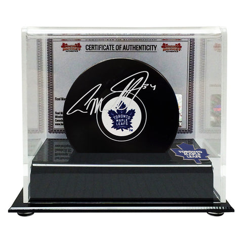 Auston Matthews Autographed Signed Toronto Maple Leafs Puck