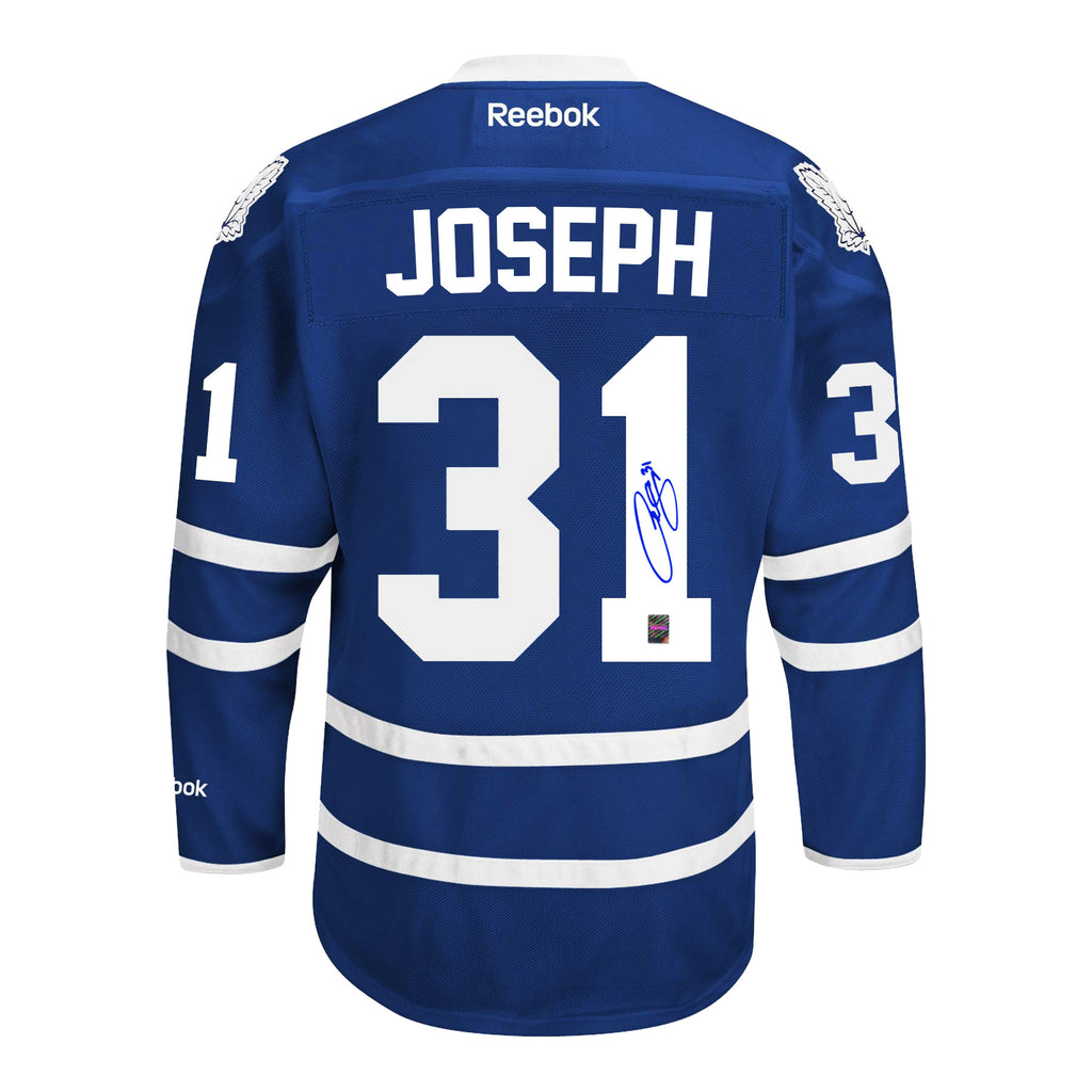 Curtis Joseph Signed Toronto Maple Leafs Home Jersey