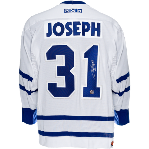 Curtis Joseph Signed Toronto Maple Leafs Away Jersey