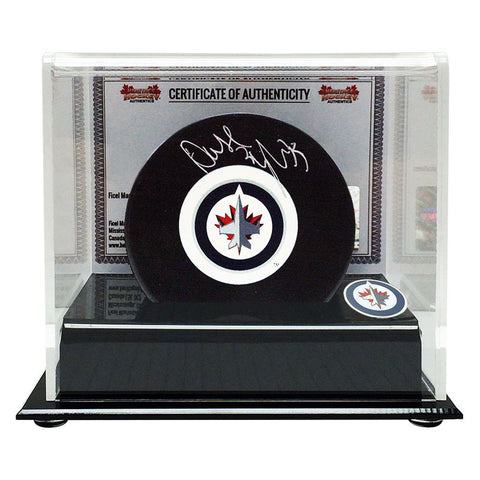 Dustin Byfuglien Signed Winnipeg Jets Puck