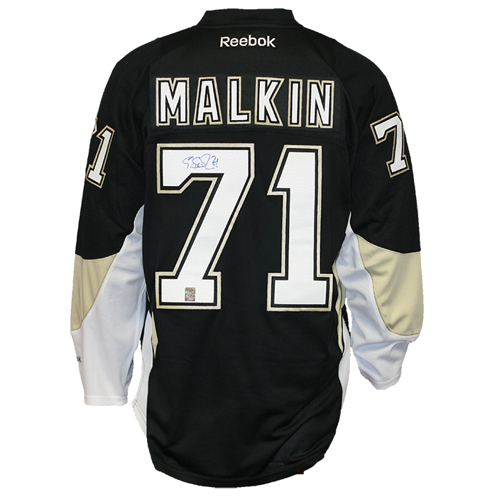 Evgeni Malkin Signed Pittsburgh Penguins Jersey