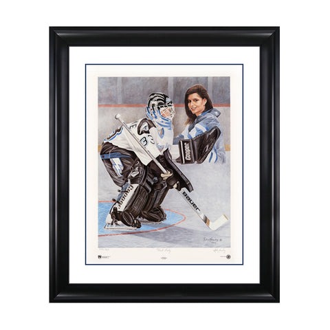 First Lady – Manon Rheaume Signed Limited Edition Print