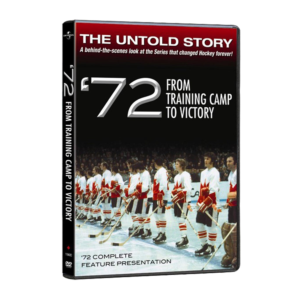 '72 From Training Camp to Victory Team Canada 1972 DVD