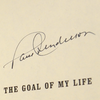 "Paul Henderson Signed ""The Goal of my Life: A Memoir"" Hardcover Book"