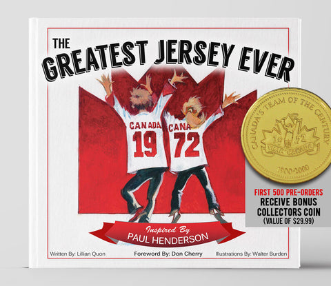 PRE-ORDER: The Greatest Jersey Ever Hardcover Children's Book with BONUS