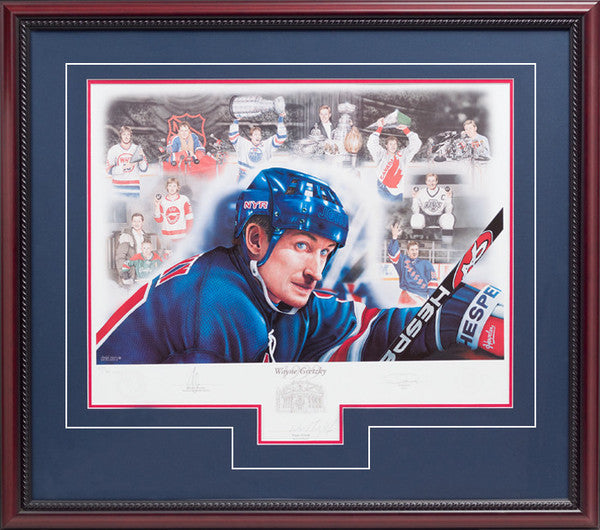 Wayne Gretzky 1999 – Signed Limited Edition Print