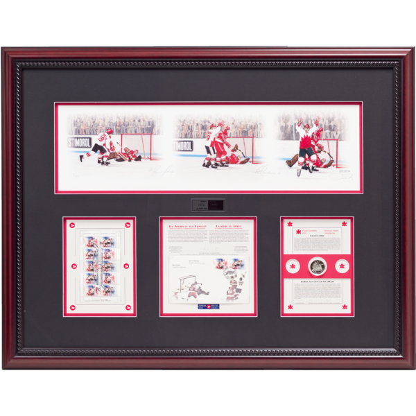 History Unfolds – Paul Henderson & Vladislav Tretiak Signed Limited Edition Summit Series Print