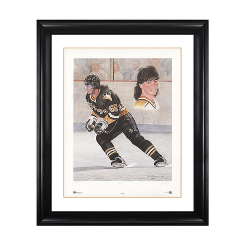 Jagr – Jaromir Jagr Signed Limited Edition Print