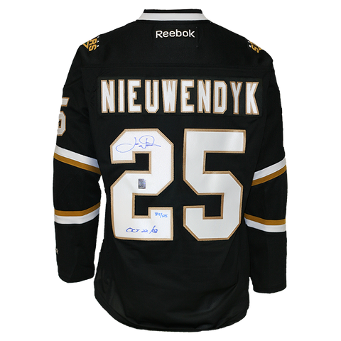 Joe Nieuwendyk Signed Dallas Stars Jersey