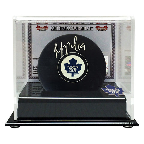 Joffrey Lupul Signed Toronto Maple Leafs Puck