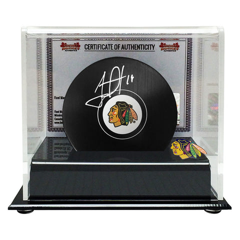 Jonathan Toews Signed Chicago Blackhawks Puck
