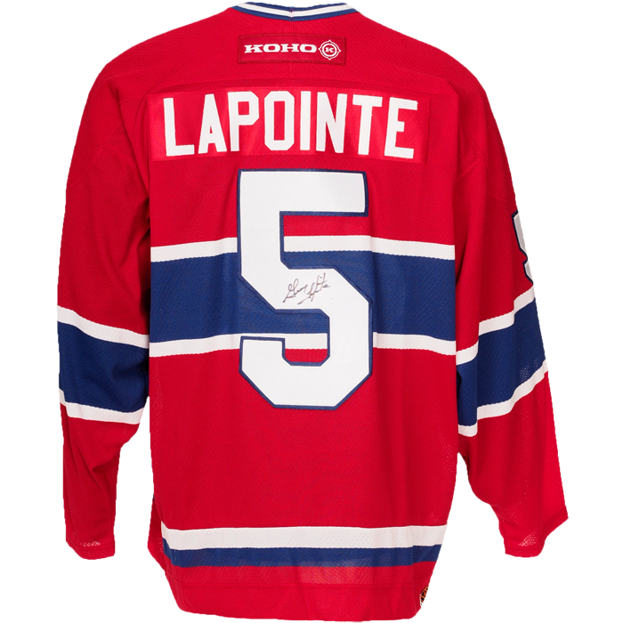 closeout montreal canadiens adidas authentic jersey away adizero f6412  18377  netherlands guy lapointe signed montreal canadiens jersey 5b632 56d69 0bf4f26a0