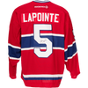 Guy Lapointe Signed Montreal Canadiens Jersey