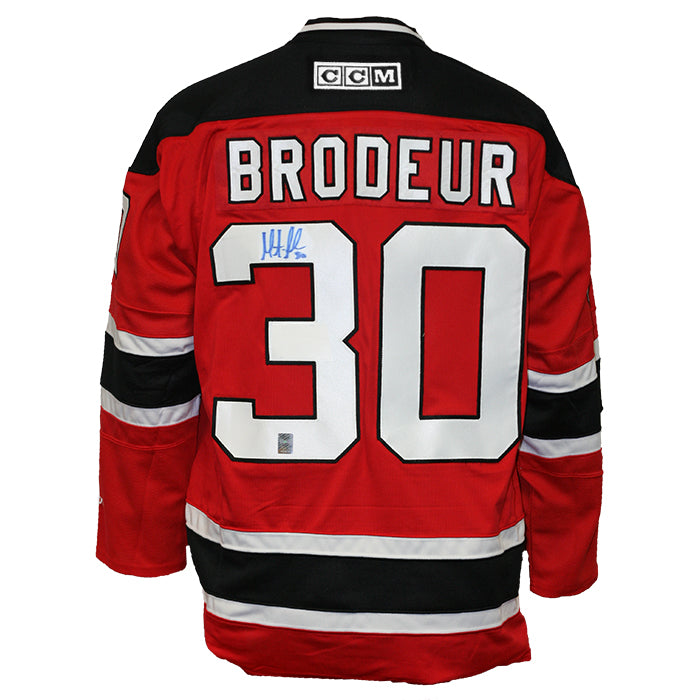 Martin Brodeur Signed New Jersey Devils Ccm Jersey Heritage Hockey