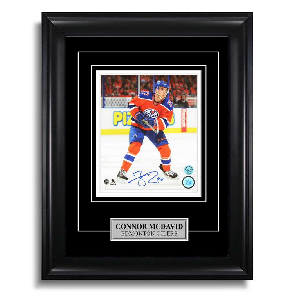 Connor McDavid Signed Edmonton Oilers 11x14 Photo