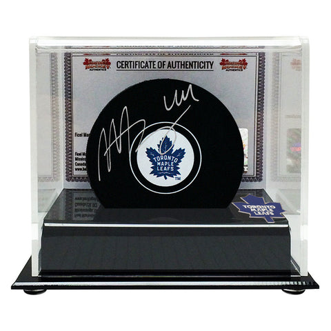 Morgan Rielly Signed Toronto Maple Leafs Puck