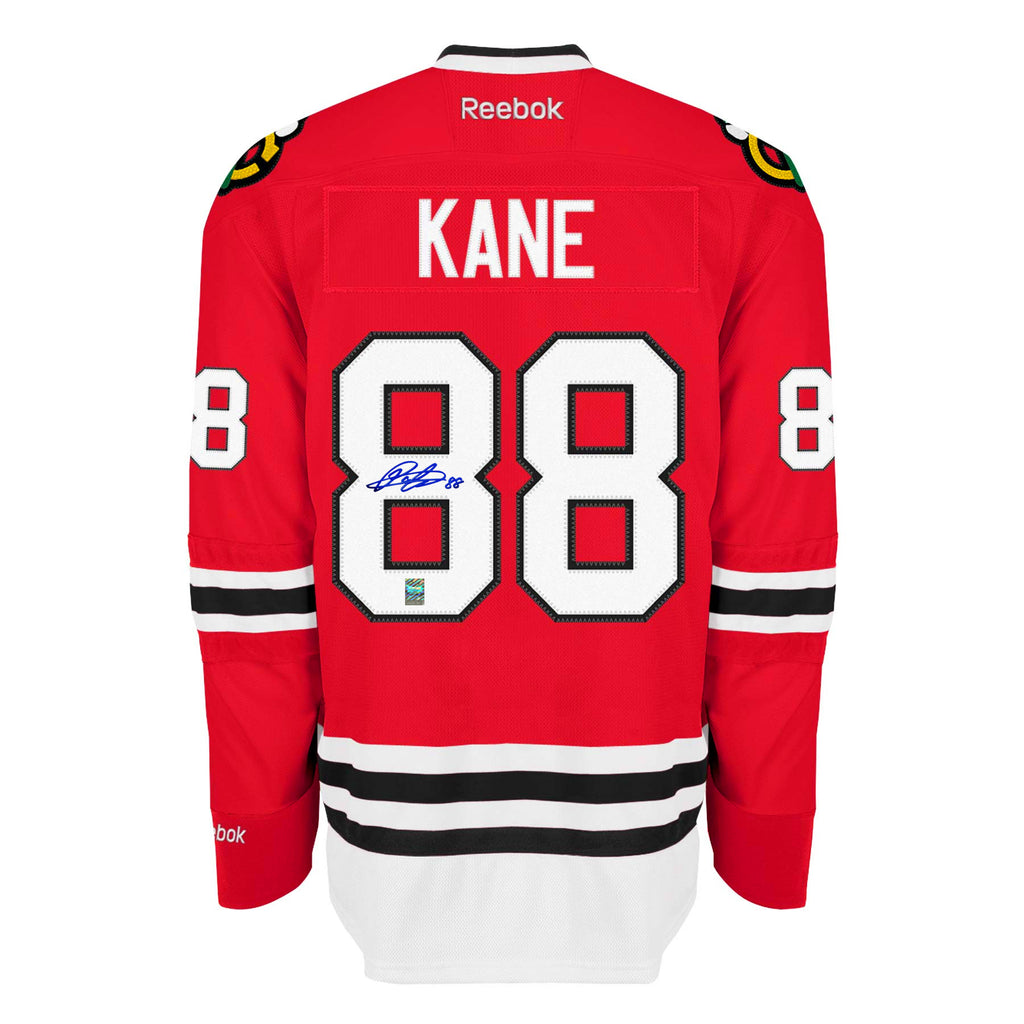 best sneakers b4c6b ee5e2 Patrick Kane Signed Chicago Blackhawks Jersey