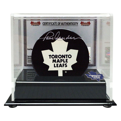 Paul Henderson Signed Toronto Maple Leafs Puck