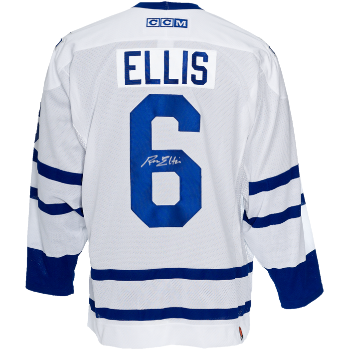 Ron Ellis Signed Toronto Maple Leafs Jersey