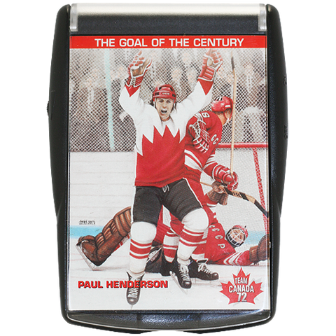 Paul Henderson Talking Card Team Canada 1972
