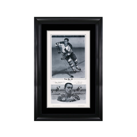 The Big M – Frank Mahovlich Signed Limited Edition Print