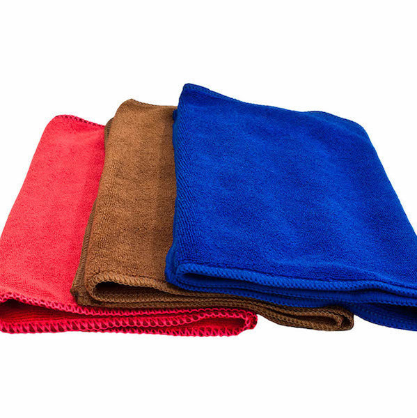 Microfibre grinder cloth (assorted colours)