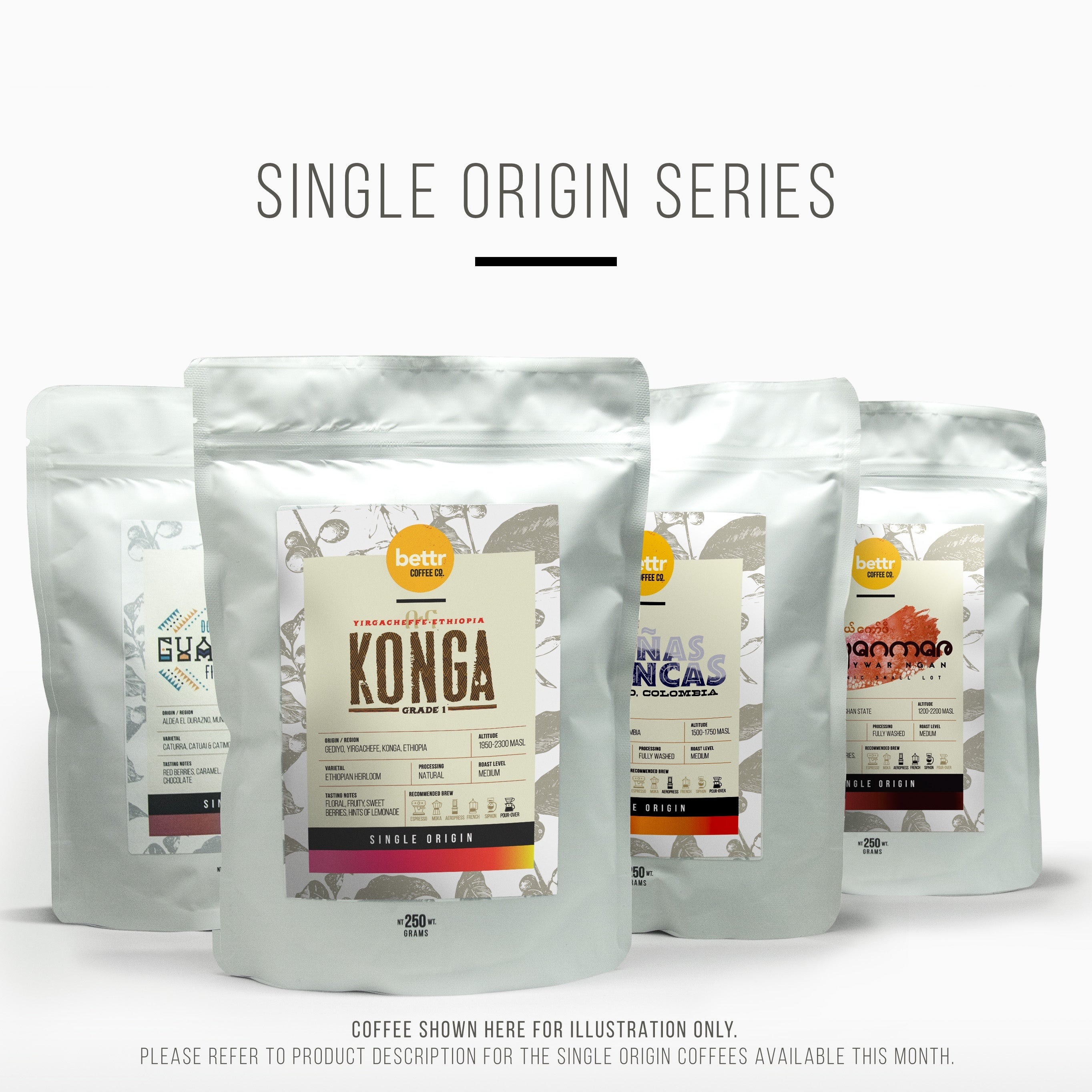 4 Bag Subscription - Single Origin Series