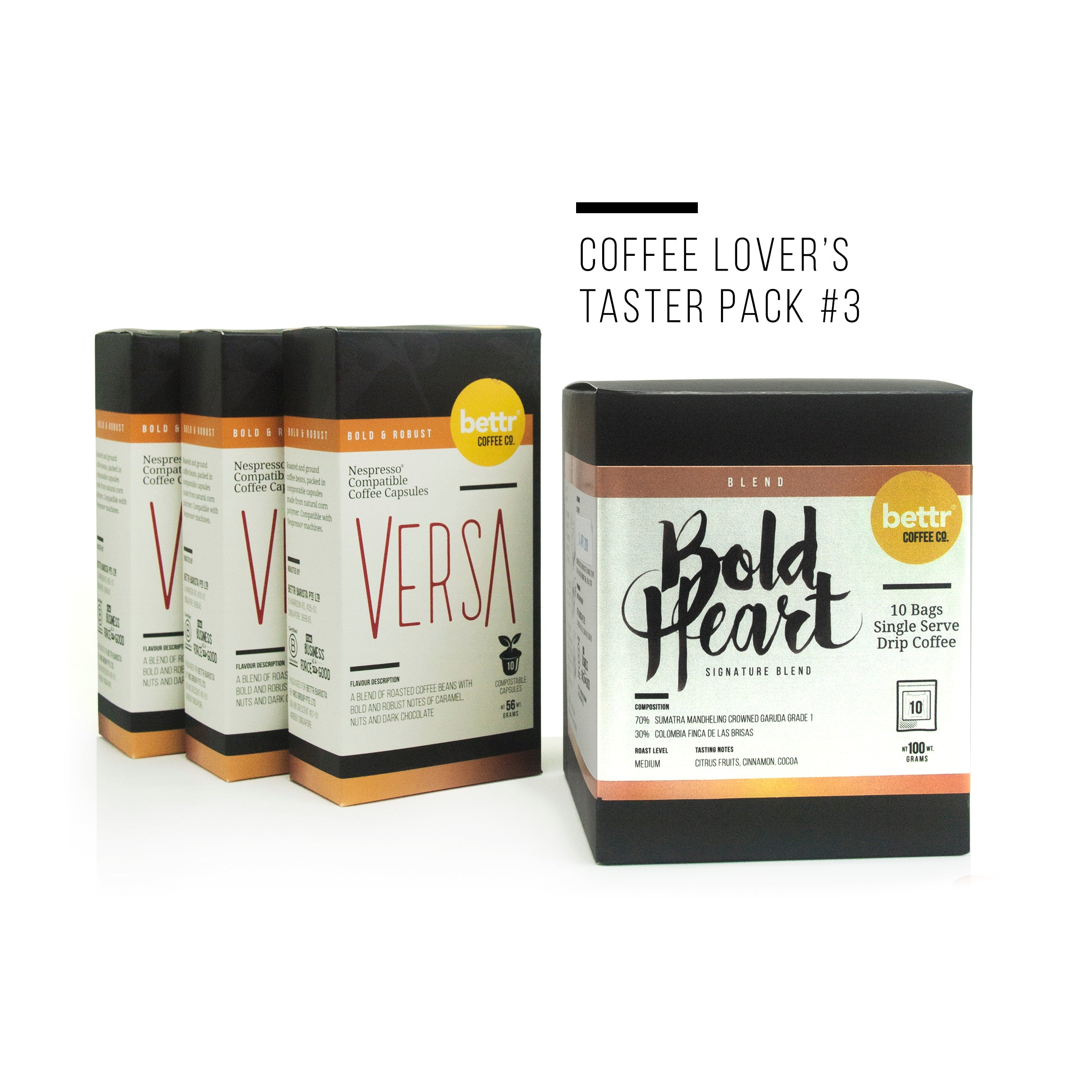 Coffee Lover's Taster Pack