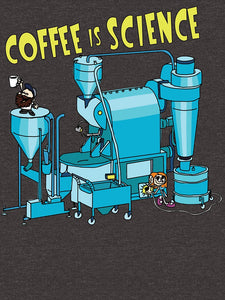 Coffee is Science t-shirt