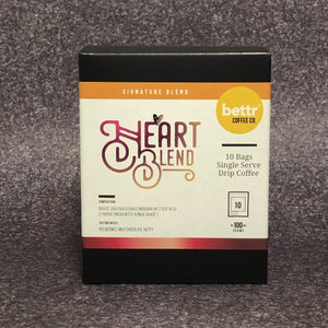 Heart Blend - Single Drip Coffee (1 box)