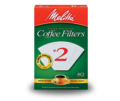 Melitta #2 Filters (Clever)