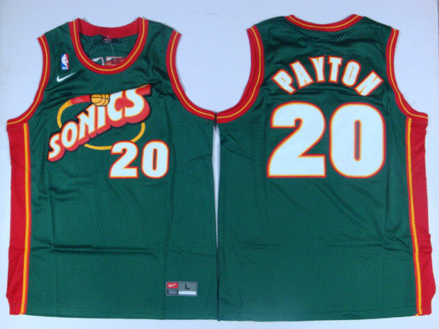 new arrival 44131 8f2ff Gary Payton, Seattle Supersonics #20
