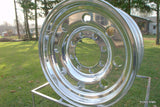 16 x 7 ALCOA Trailer Wheel - Full Polished 8 on 6.5