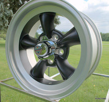 Load image into Gallery viewer, AMERICAN RACING TORQ THRUST D SATIN BLACK W/ MACHINED LIP - rons-rims-inc