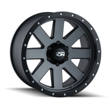 Load image into Gallery viewer, ION 134 MATTE GUNMETAL/BLACK BEADLOCK - rons-rims-inc