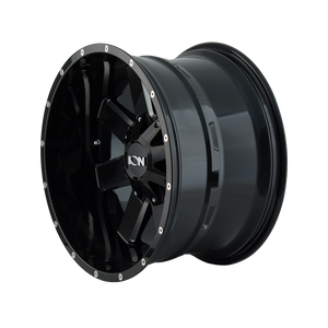 ION 141 GLOSS BLACK/MILLED SPOKES - rons-rims-inc