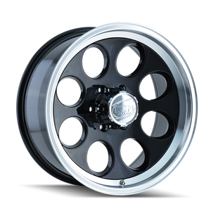 ION 171 BLACK/MACHINED LIP - rons-rims-inc