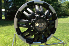 Load image into Gallery viewer, MOTO METAL MO963 DUALLY MATTE BLACK MACHINED DUALLY - FRONT - rons-rims-inc